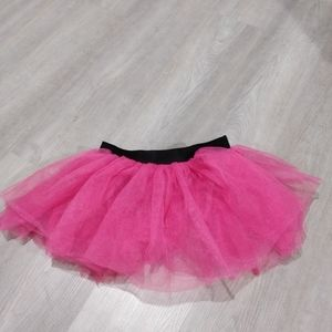 Bubble Run pink tutu skirt cover up